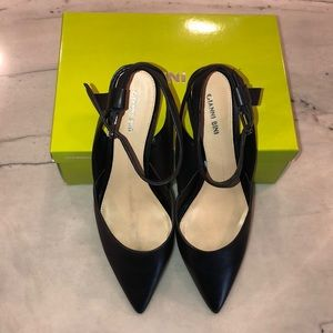 Gianni Bini Black Rizbee Heel, Size 11M